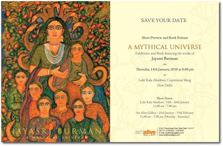 A Mythical Universe | Solo Show of Jayasri Burman