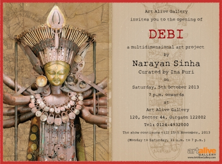 DEBI - A Multidimensional Project by Narayan Sinha