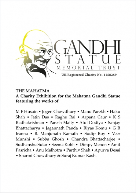 The Mahatma | A Charity Exhibition for the Mahatma Gandhi Statue