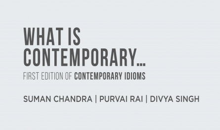 WHAT IS CONTEMPORARY | FIRST EDITION OF CONTEMPORARY IDIOMS