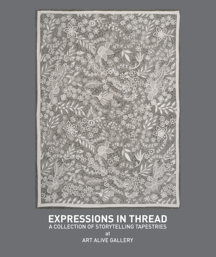 EXPRESSIONS IN THREAD | A COLLECTION OF STORYTELLING TAPESTRIES