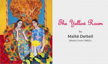 The Yellow Room | A Collection of Maite Delteil's Works from the 1960's