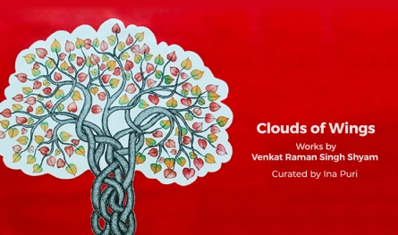 Clouds of Wings | Works by Venkat Raman Singh Shyam