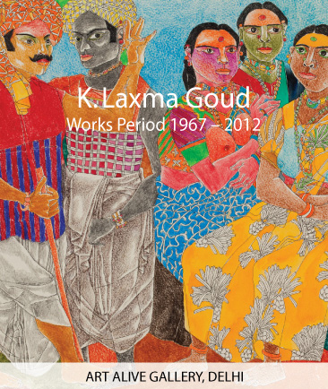 I want to Seduce with My Line | Solo Show of Laxma Goud