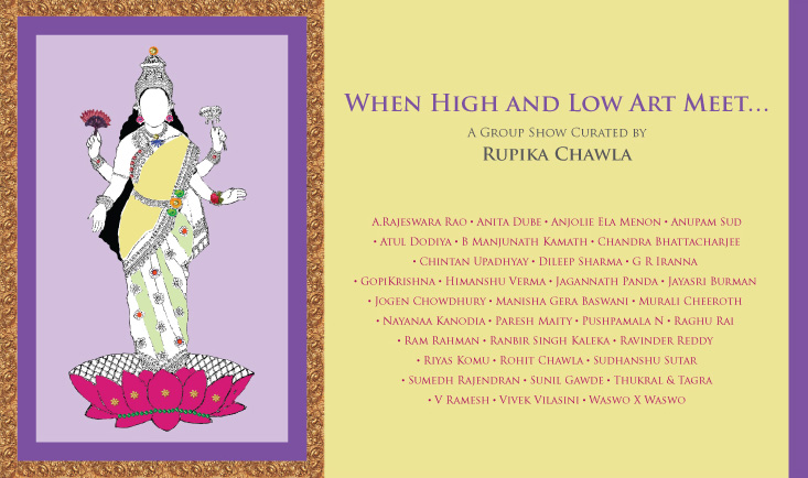 When High and Low Art Meet | A Group Show Curated by Rupika Chawla