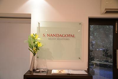 S. NANDAGOPAL | Recent Sculptures