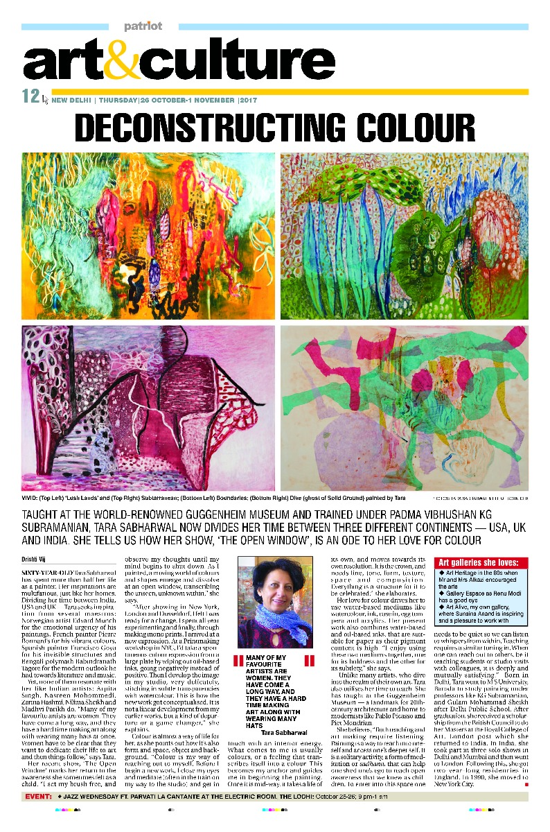 Art & Culture October 2017