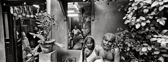 An Artist studio, Kolkata, 2004
