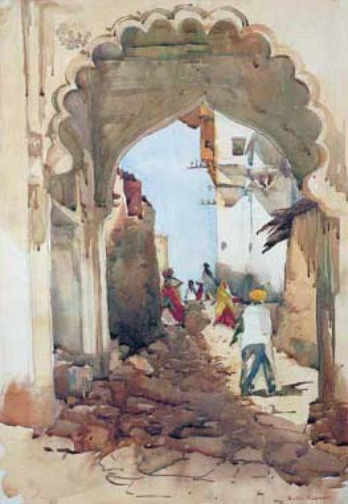 Through the Gate of Udaipur