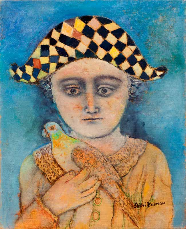 Boy with a Parrot