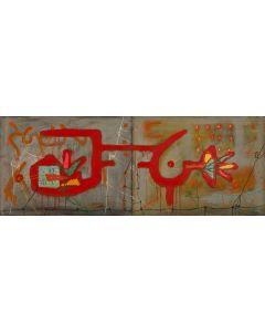 Graffiti on Temple Wall