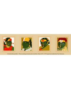 Thota Vaikuntam : Limited Edition Portfolio of 4 Prints