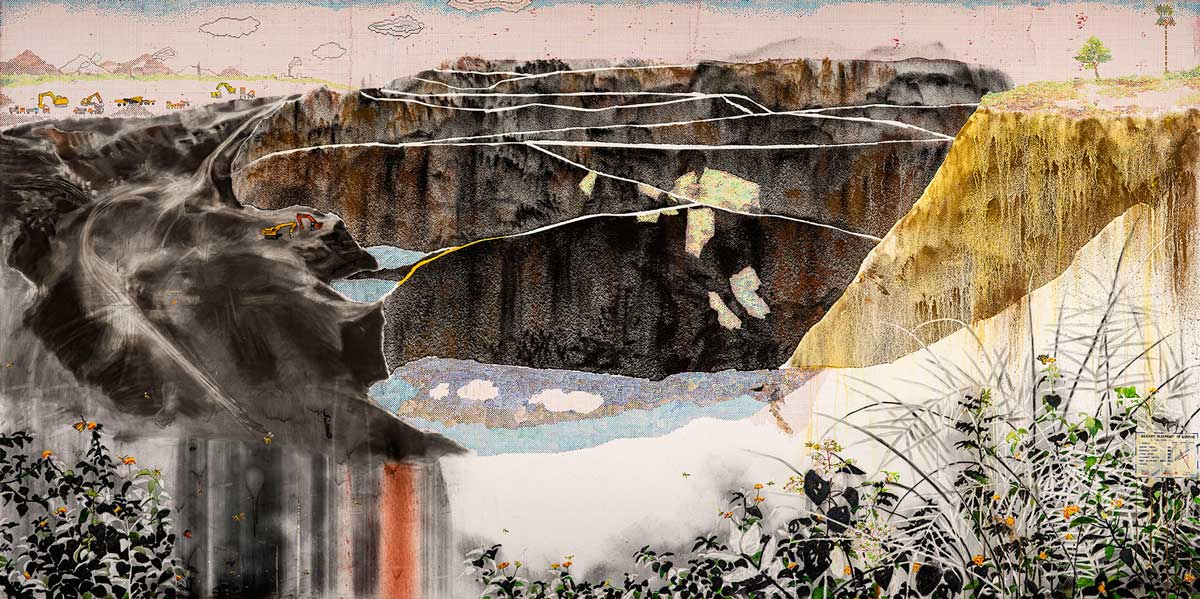 Imaginary View of an Economically Developed Landscape