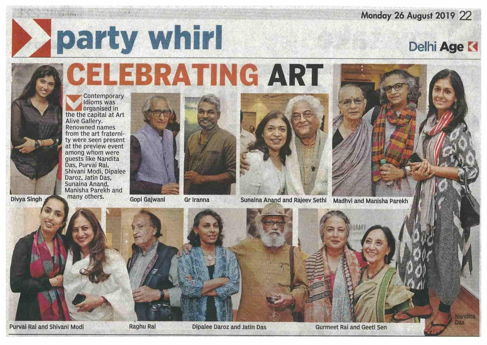 The Asian Age   26th August 2019